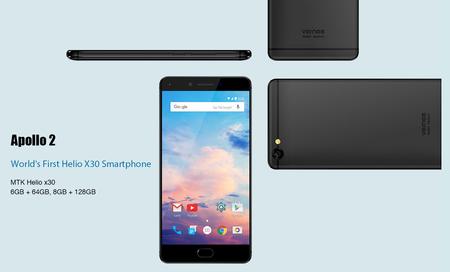 El primer smartphone con chipset Helio X30 y 8 GB de RAM estará presente en el MWC 2017