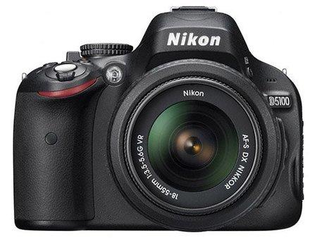 Nikon D5100, vista frontal
