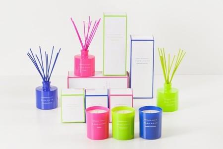 Zara Home asocia fragancias a los colores flúor