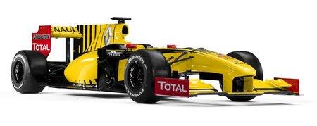 Pirelli ya tiene monoplaza de pruebas, un Renault R30