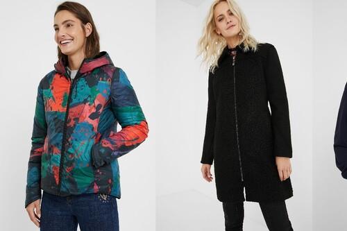 Rebajas de invierno en Desigual, con hasta un 50% de descuento en vestidos, abrigos, jerseys y chaquetas