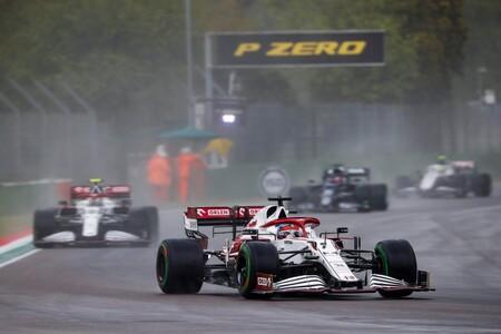 Raikkonen Imola F1 2021