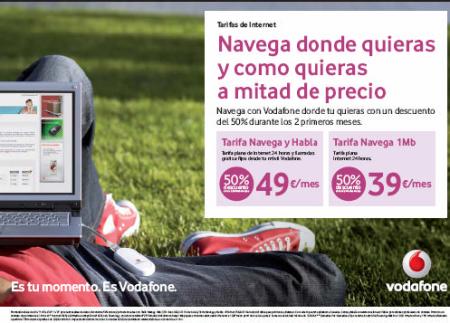 Internet Móvil con Vodafone de promoción