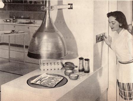 Primeros microondas