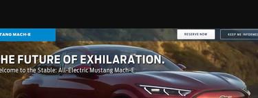 Filtrado: el Ford Mustang Mach-E, primer SUV eléctrico de Ford, se descubre antes de tiempo... ¡en la propia web de la marca!