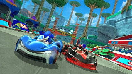 Apple Introduces Apple Arcade Sonic Racing 03252019