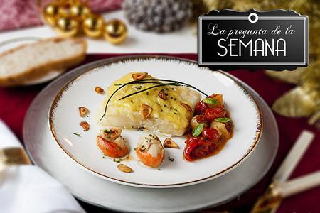 ¿Tenéis ya planeados vuestros menús y platos de Navidad? La pregunta de la semana