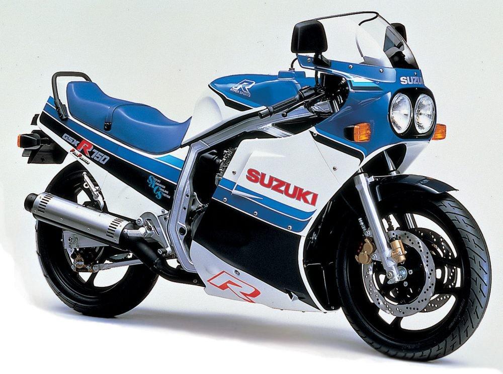 Suzuki GSX-750 del año 1984