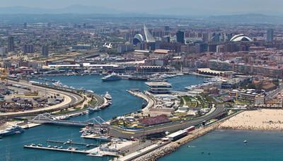El circuito urbano de Fórmula 1 de Valencia ya está abandonado de facto