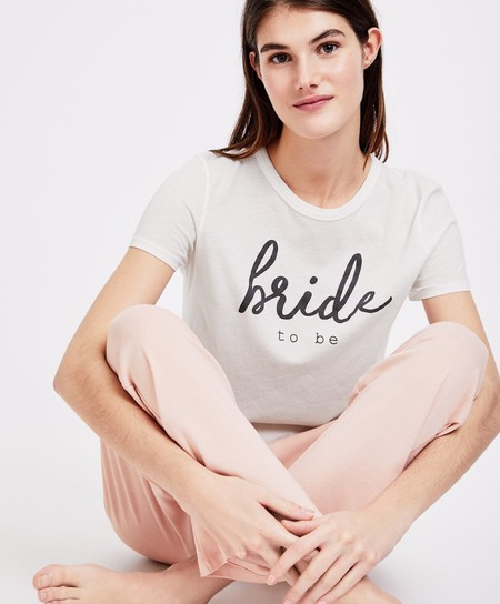 Camiseta Bride Pijama Oysho