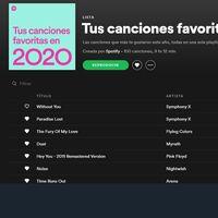Cómo saber tus artistas y canciones más escuchadas de Spotify en 2020