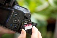 Sony amplia su gama de tarjetas SD