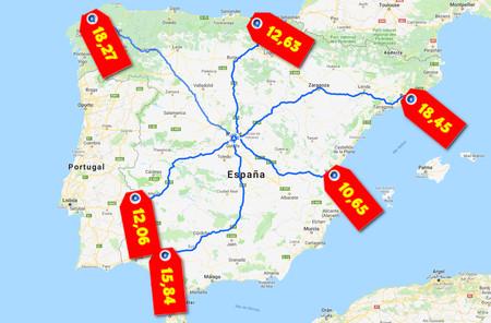 Autovias Peaje Espana