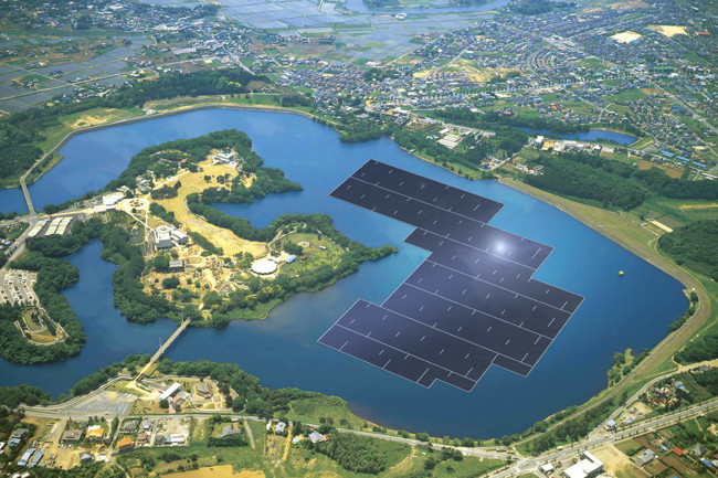 1453406921 Rendering Of The 137mw Floating Solar Power Plant