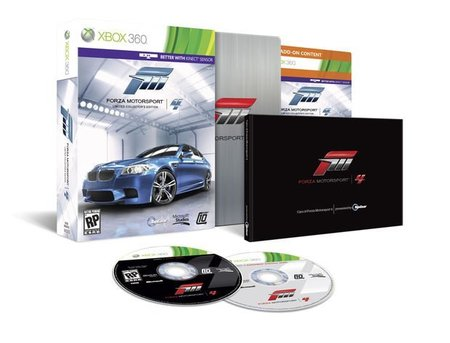 Forza Motorsport 4, se presenta la edición coleccionista