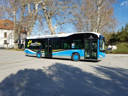 Autobus Emt Electrico 01