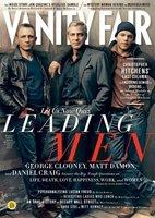 George Clooney, Daniel Graig y Matt Damon para Vanity Fair, ¡portadón de quesitos!