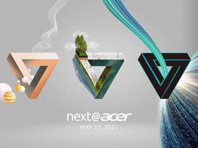 Next@Acer 2021: presentación oficial en directo