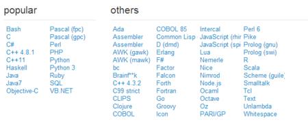 Compila tu código en multitud de lenguajes sin IDE con estos compiladores online
