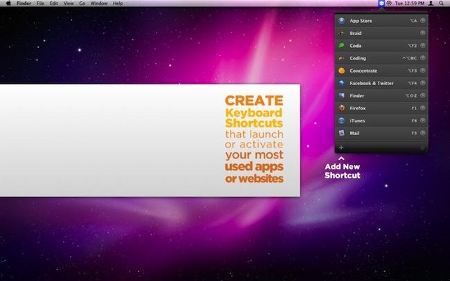 Launch it! atajos teclado aplicaciones webs