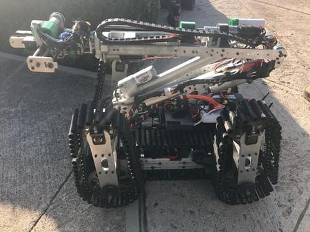 Este robot fabricado en Aguascalientes ayudará a buscar sobrevivientes bajo los escombros de Ciudad de México