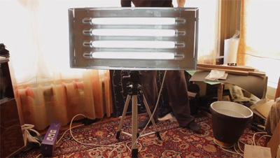 Cómo fabricarse un panel de iluminación con fluorescentes