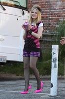 Avril Lavigne entre lo moderno y lo hortera