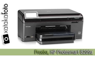 Impresora HP Photosmart B209a, la probamos en Xatakafoto