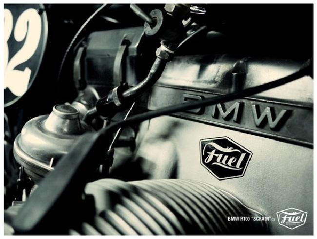 BMW Scarmabler Fuel Bespoke