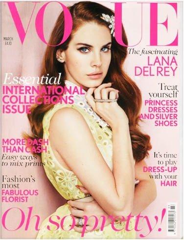 Lana del Rey es la portada de marzo de Vogue UK