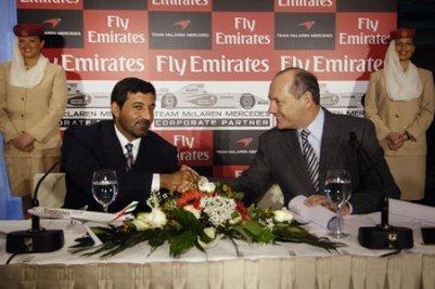 McLaren capta a Fly Emirates