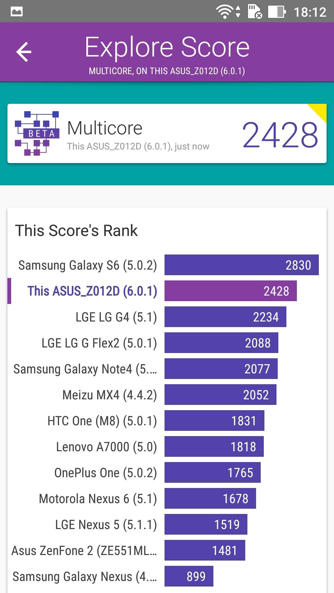 Foto de ASUS Zenfone 3 (ZE552KL), benchmarks (20/29)