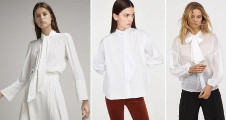 Camisa Blanca Lazada