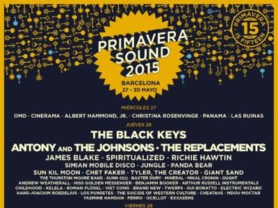 The Black Keys y The Strokes, los grupos estrella del cartel Primavera Sound 2015