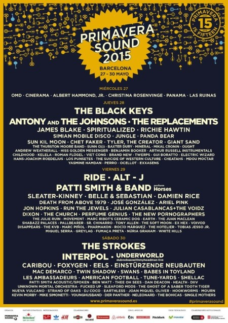 The Black Keys y The Strokes, los grupos estrella del cartel Primavera Sound 2015