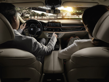 BMW Serie 7 Gesture Control
