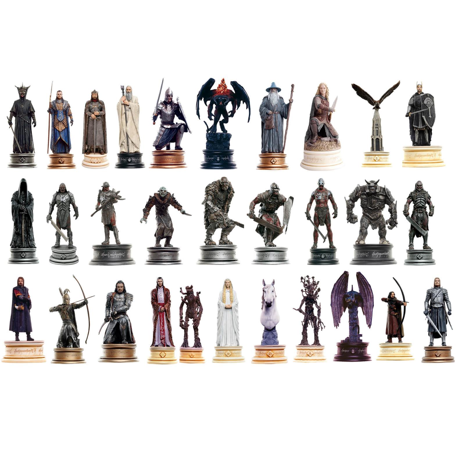 Set de 30 figuras de 'El señor de los anillos'