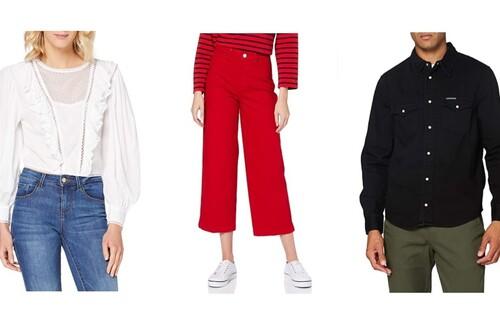 Chollos en tallas sueltas de pantalones, chaquetas y jerseys de marcas como Calvin Klein, Tommy Hilfiger o Guess en Amazon