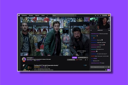 Watch Parties de Twitch permite a los streamers ver series y películas de Amazon Prime Video con todos sus seguidores en directo