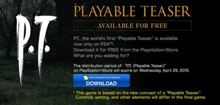P.T. Demo de PS4