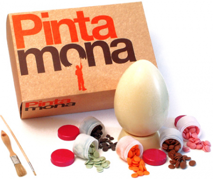Monas de Pascua elaboradas con tu hijo, Kit Pinta Mona