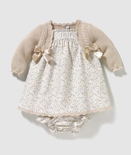 Vestido Flores Dulces Bebe