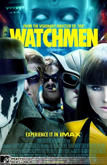 'Watchmen', póster para Imax