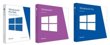 Microsoft anuncia los precios y versiones de Windows 8.1