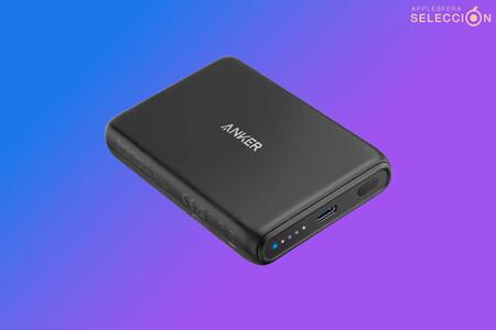 Recarga tu flamante iPhone 13 sin cables con la batería MagSafe 5K de Anker a 30,59 euros en Amazon, su mínimo histórico