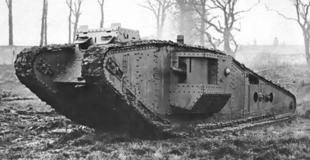 British Mark Iv Tadpole Tank