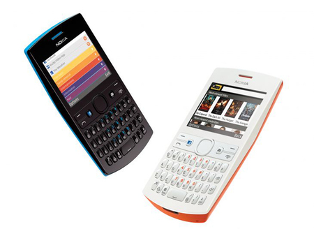 Nokia Asha 205 y 206, dos móviles económicos muy coloridos