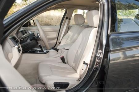 BMW 335i, prueba