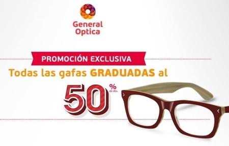 General Óptica ¡Todas las gafas graduadas al 50 %! (Acaba hoy)