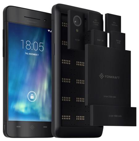 Fonkraft, el smartphone Android modular que pasó del cielo al infierno en tan solo seis días